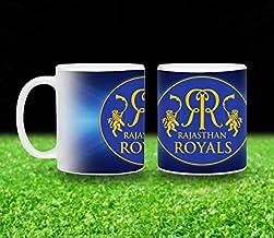 Vista 11oz IPL Team Printed Coffee Mugs- Rajasthan Royals Logo printed White Mug