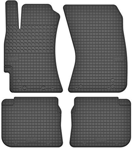 Motohobby Gummimatten Gummi Fußmatten Satz für Subaru Forester III (2008-2013) / Impreza III (2007-2013) / Legacy IV (2003-2009) / Outback III (2003-2009) - Passgenau