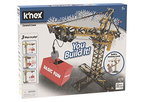 K nex Imagine - Grúa de construcción con Motor, Juego de Construcción, 817 piezas, +9 años (Ref. 41329)