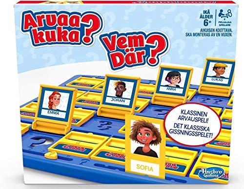 Vem där? Det klassiska gissningsspelet för 2 spelare för barn från 6 år (Svenska/Finska)