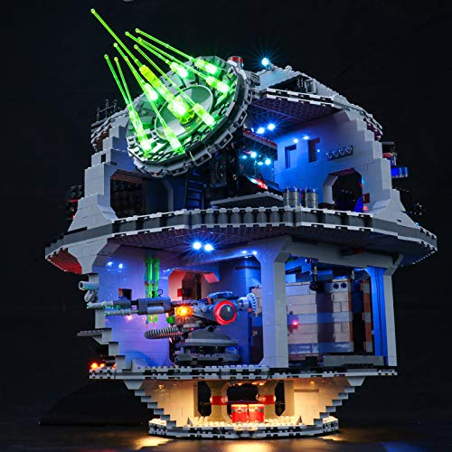 BRIKSMAX Led Lighting Kit for Death Star - Compatible with Lego 75159 Building Blocks Model- Not Include The Lego Set