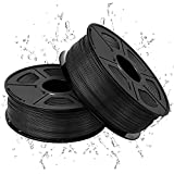 Filamento PLA para impresora 3D, 1,75 mm, 1 kg, fibra de carbono PLA