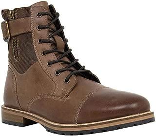 Crevo Mens Silas Casual Boots, Brown, 8