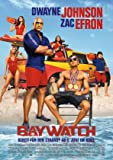 Baywatch – Dwayne Johnson – German Imported Movie Wall