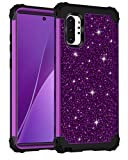 Lontect for Galaxy Note 10 Plus Case Luxury Glitter Sparkle Bling...