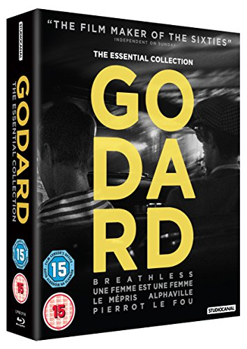 Godard: The Essential Collection (5 Blu-Ray) [Edizione: Regno Unito] [Reino Unido] [Blu-ray]