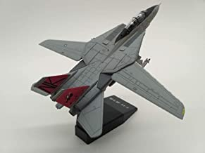 GreenSun 1:100 Scale F-14 Tomcat Plane Model Alloy Diecast U.S Navy Carrier-Based Aircraft Fighter F14 Toys for Kids Gifts