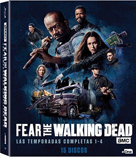 Pack Fear The Walking Dead Temporada 1 - 4 Blu-Ray [Blu-ray]