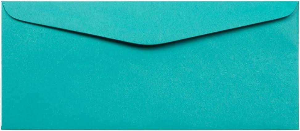JAM PAPER #9 期間限定今なら送料無料 Business Colored ショップ Envelopes - Sea 3 x 8 7 Bl