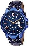 Redux Analogue Date & Time Men's & Boy's Watch (Blue)