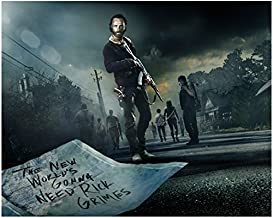 The Walking Dead (TV Series 2010 - ) 8 Inch x10 Inch Photo Andrew Lincoln