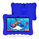 7 Inch Kids Tablet, Android 9.0 Edition, 2+32GB, WiFi Tablets, Parental Control, Preloaded Learning & Training Apps, Games, Kids Software Pre-Installed with Kids-Proof Case (Blue)