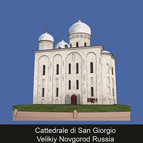 Cattedrale di San Giorgio Velikiy Novgorod Russia copertina