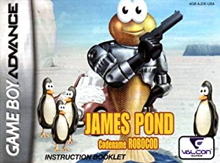 James Pond Codename Robocod GBA Instruction Booklet (Game Boy Advance Manual only) (Nintendo Game Boy Advance Manual)