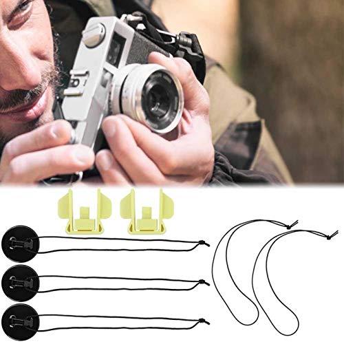 Jopwkuin Cinturón de Controlador portátil Accesorios de Regalo Cordones Protectores de cámara Hebilla Protectora de Seguridad de Fuerte adhesión, para S-Ony HDR-AS200V