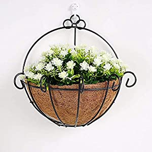 Artificial Flowers Scflower Wall Mounted Plants Home Shops Decorated Walls Gifts Gardenia White