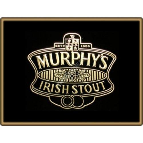 Murphys Irish Stout Bier LED Zeichen Werbung Neonschild Gleb