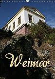 Weimar (Wandkalender 2019 DIN A3 hoch): Bummel durch die Stadt der Klassiker (Monatskalender, 14 Seiten ) (CALVENDO Orte) - Martina Berg