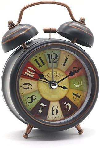 Besplore Double Fashionable Bell Alarm Clock Ways Outlet SALE Ancient Mini Restoring wit