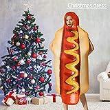 hinffinity Halloween-Kostüm für Männer und Frauen, Hot Dog Siames-Festival Event-Kostüm,...