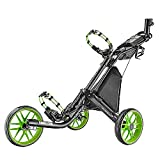 Caddytek facile Piegati Carrello da Golf cart 3 ruote LIME