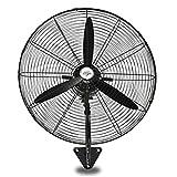 Ventilador industrial, ventilador eléctrico / ventiladores industriales de pared oscilantes / ventilador de la industria doméstica (55 cm / 70 cm / 80 cm), enfriamiento ideal para usar en taller & ga