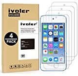 ivoler [4 Pack] [Tempered Glass] Screen Protector Compatible iPod...