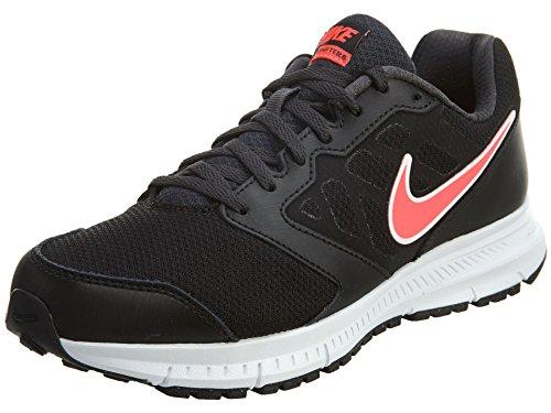 Nike Nike WMNS Downshifter 6 (w) - Laufschuhe, Mädchen, Farbe Schwarz (Black/Hyper Punch-Anthracite), Größe 36