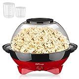 MVPOWER Macchina Popcorn 800W, 5L Macchina per Popcorn con...