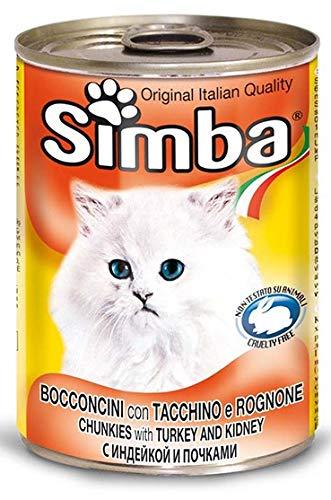 MONGE - SIMBA GATTO BOCCONCINI CON TACCHINO E ROGNONE 415 GR. - 0759