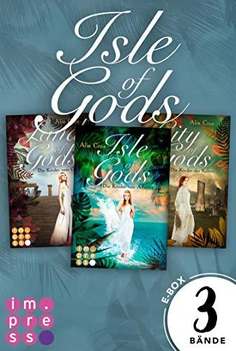 Gods: Alle Bände der Romantasy-Reihe in einer E-Box!: Götter-Fantasy voller Romantik