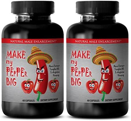 Natural Sex Enhancer for Men Make My Pepper Big Natural Sexual Enhancement for Men 2 Bottles product image