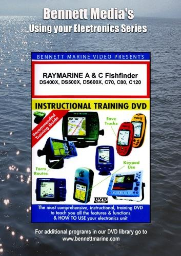 RAYMARINE A & C Series Fishfinder: DS400X,DS500X,DS600X,C70,C80,C120 [DVD] [NTSC]