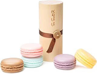Deluxe Macaron Soap Gift Set of 5 - holiday Gifts for Women - Wife Mom Daughter Girlfriend – Aromatherapy Natural Soap Set...