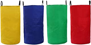 BESPORTBLE 4 Pcs Potato Sack Race Bags Oxford Cloth Jumping Bag for Kids Birthday Party Games Outdoor Lawn Entertainment P...