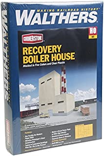 Walthers - Superior Paper - Kit (Plastic) Recovery Boiler House - HO