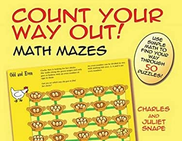 Count Your Way Out! Math Mazes (Dover Children's Activity Books)