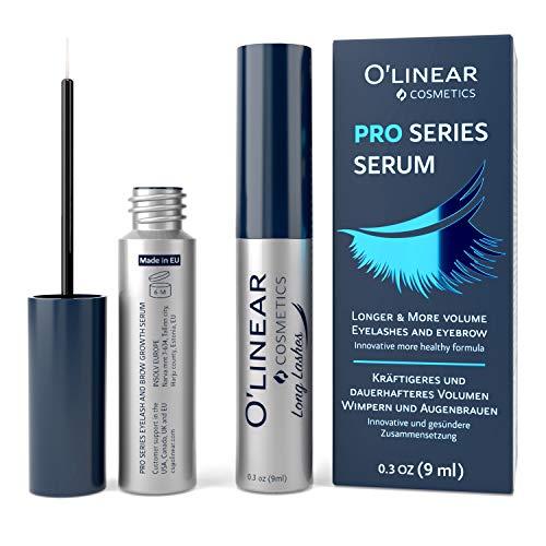 Eyelash Growth Serum - Lash and Eyebrow Enhancer - Natural Booster for Rapid Lash and Brow Growth -...