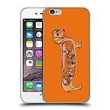 Head Case Designs Licenciado Oficialmente Rachel Caldwell Perro Salchicha Animales 3 Carcasa de Gel de Silicona Compatible con Apple iPhone 6 / iPhone 6s