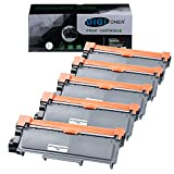 TonerPlusUSA Compatible Toner Cartridge Replacement for Brother TN630 TN660 TN-660 High Yield for use in Brother DCP-L2540DW/L2560DW/HL-L2300D/L2360DW/L2380DW/MFC-L2680W/L2685DW [Black, 5 Pack]