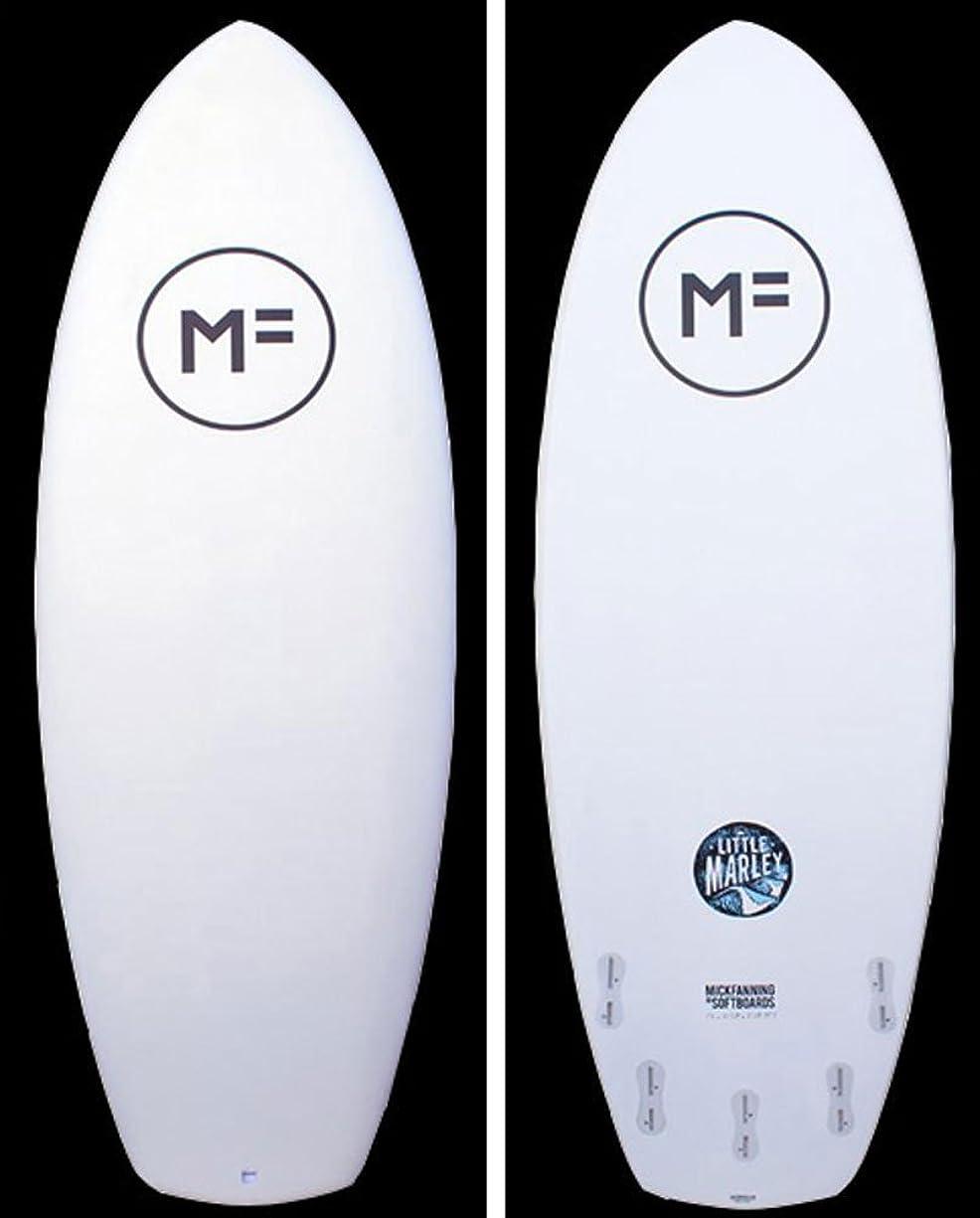 等価酔って天MICK FANNING (ミックファニング) ソフトボード LITTLE MARLEY WHITE 5'6