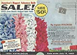 Breck's Holland Bulb Fields, 1960 Catalogue 1960
