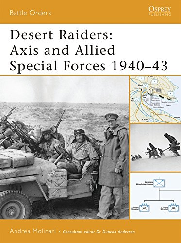 Desert Raiders: Axis and Allied Special Forces 1940-43: No. 23