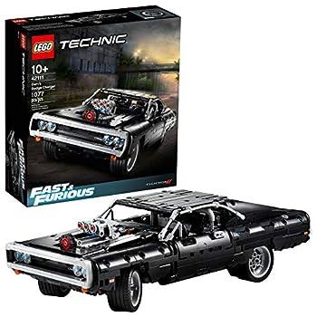LEGO Technic Fast & Furious Dom's Dodge Charger 42111 Race Car Building Set  1,077 Pieces