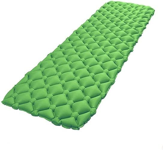 Tapis de Camping en Plein air Nylon192  60  5.5cm Matelas pneumatique lit d'air Gonflable Ultra-léger pour la randonnée Picnic plage Tent Sleeping Bed 192cm x 60cm x 5.5cm Orange