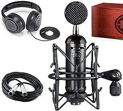 Blue Blackout Spark SL XLR Condenser Microphone with Studio Headphones & 20' XLR Cable Bundle