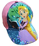 Disney Rapunzel Mädchen, Kinder Kappy, Cappy, Baseballcap, Cap, Kappe mit Rapunzel im lila Kleid und Buch (54, Pink)