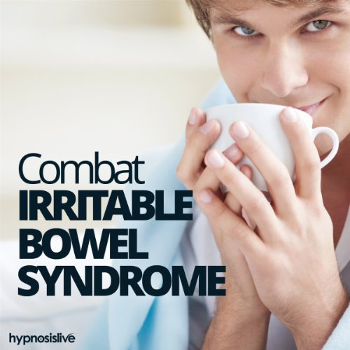 Combat Irritable Bowel Syndrome Hypnosis audiobook cover art