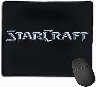 Alfombrilla de ratón con diseños Alfombrilla de ratón Starcraft Alfombrilla de ratón para Juegos Goma Natural 25X30 cm