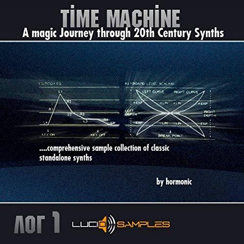 Time Machine vol.1 es una completa colección de muestras de sintetizadores vintage...